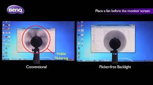 Flicker-Free - <b>BenQ</b> VA LED Monitor GW2760HS - YouTube