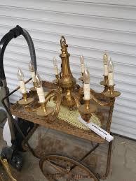 Kronleuchter 8 Flammig Kerzenleuchter Messing In 76831