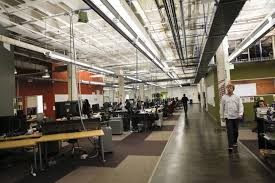 The google office Los Angeles Facebook Like Many Tech Companies Uses The Openspace Office Model ryan Ansonafpgetty Images Washington Post Google Got It Wrong The Openoffice Trend Is Destroying The
