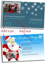 Free Christmas Invitation Template Free Christmas Party Invitation Cards Customize And Print