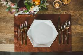Indonesian Table Setting Rustic Placemats Etsy