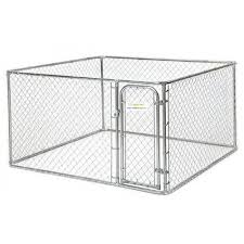 vebo 2 3m chain link diy outdoor dog run enclosure kit with sunblock cover