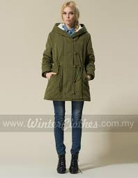 women s plus size winter long coat hooded inner cashmere layer winter jacket rm199 00 rm139 00