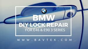 e46 e90 door lock repair kit diy tutorial