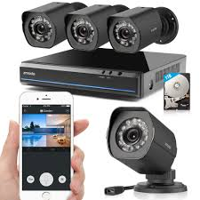 Get Quotations · Zmodo 4 Channel HDMI NVR 4x720p HD Security Camera Smart PoE System 1TB HDD Cheap System, find