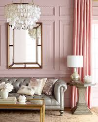 Chic Pink Living Room