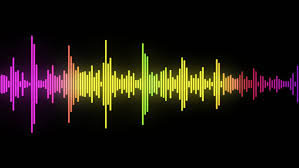 Audio Spectrum Simulation Use For Stock Footage Video 100 Royalty