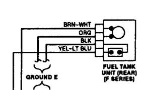 1993 ford f150 wiring for the fuel sending unit aftermarket fuel pump wiring diagram Aftermarket Fuel Pump Wiring Diagram here are the schematic the thicker wires are for the fuel pump and they would work if you plug them in without the connector but