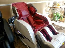 massage chair with rollers. iyashi - side view reclined massage chair with rollers