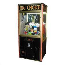 Vending Machine Game Inspiration BIG CHOICE SKILL CRANE Arcade Machine Game For Sale TAKES BILLS