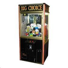 Vending Machine Game Inspiration BIG CHOICE SKILL CRANE Arcade Machine Game For Sale TAKES BILLS