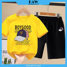Set Đồ Bé Trai phong cách hàn quốc, thời trang trẻ em thương hiệu BAW mã  111 - Áo bé trai Thương hiệu Baw