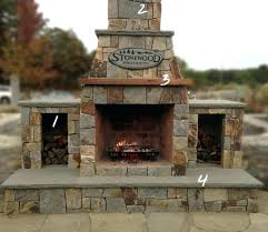 outdoor wood fireplace kit fireplace ideas inside amusing wood burning outdoor fireplace kits