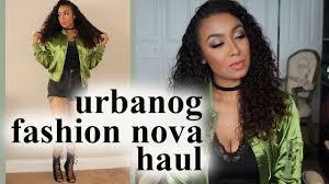 Urbanog Plus Size Size Chart Fashion Nova Urbanog Haul Review Try On 2016
