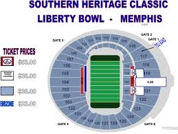 Seating Maps Official Site Of Tennessee State Athletics