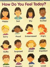 Today I Feel Chart For Circle Time Feelings Chart