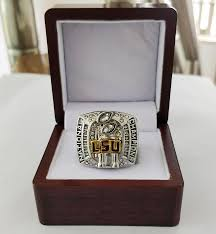 whole 2007 lsu tiger s men s football college chionship ring tideholiday gifts for friends mens rings enement rings from jiakpu