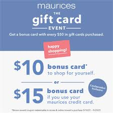 You may be charged a fee of up to $15 for expedited phone payments that require live customer assistance. Gift Card Event Tanger Outlets Deals Maurices