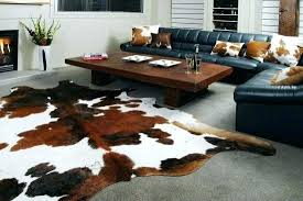 faux animal skin rugs cow rug new hide for plans info fake canada fur ru