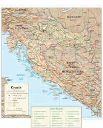 croatia maps  perrycastañeda map collection  ut library online