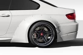 BMW 3 Series bmw 3 series 2007 : 2007-2013 BMW M3 E92 E93 Duraflex Circuit Wide Rear Fender Flares ...