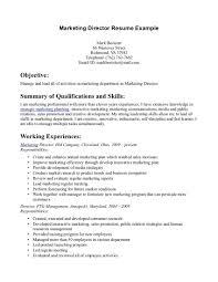 100 Marketing Manager Sample Resume Sample Cv Of Manager