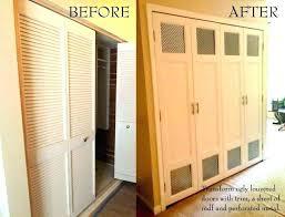 alternatives to bifold closet doors alternative to closet door bi folding glass doors interior closet door