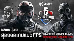 เตรียมพบกับ Rainbow Six Operation League Thailand Season 1 – Thailand  eSports Club