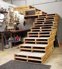 shipping pallet furniture ideas. unique furniture furniture for your office a stair from double pallets throughout shipping pallet furniture ideas e