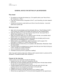 Advice For Second Interview General Advice For Setting Up Lab Interviews