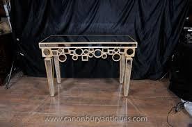 borghese furniture mirrored. art deco mirrored console table hall tables borghese furniture