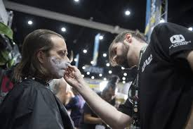 ic con 2018 these students create terrifying and amazing makeup effects