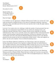 cover letter example marketing manager cover letters