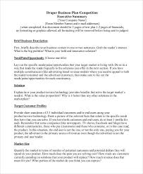 Format For An Executive Summary Sample Executive Summary 8 Examples In Pdf Word