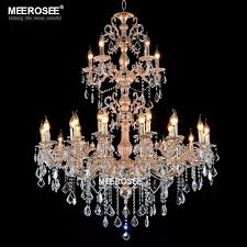 luxurious large brass color crystal chandelier lamp crystal re light fixture 3 tiers 29 arms hotel lamp chandelier black chandeliers from