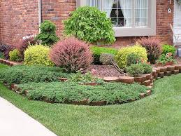 Small Picture Small Front Yard Landscaping Ideas No Grass Curb Appeal Small