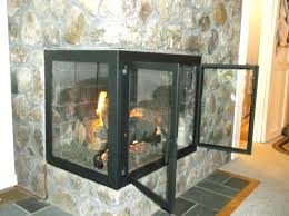 corner fireplace screen screens and doors iron it out