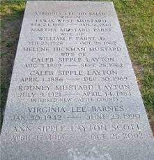 Helene Hickman Mustard Layton (1889-1964) - Find A Grave Memorial