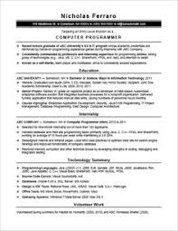 sample computer programmer resume sample computer programmer resume entry level creative resume