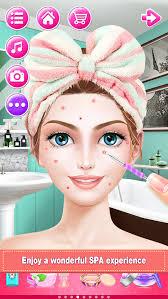 bridal boutique beauty salon wedding makeup dressup and makeover games screenshot 5