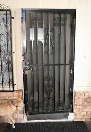 front door screensLaurels Adventures in Home Repair  Repair Holes in Wrought Iron