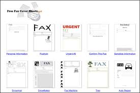 Fax Cover Sheet Samples The 13 Best Fax Template Sites Of 2019