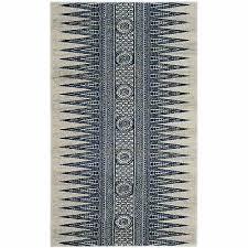 safavieh evoke vintage boho chic ivory blue distressed rug 3 x 5