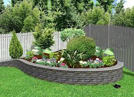 Photo of Backyard Corner Landscaping Ideas Small Backyard Landscaping Ideas  Corner Garden With Round Bricks