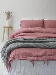 stonewashed linen bedding 1 duvet cover