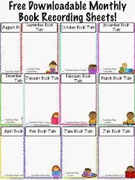 Months Of The Year Chart Book Free Book Tally Chart How Many Stories Will Your Class