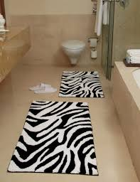 10 stylish black and white bathroom rugs for 2018