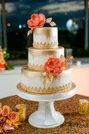 Best 25 Coral Wedding Cakes Ideas On Pinterest Blue Tall