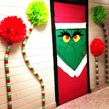 christmas door decorations for office. Door Decorating Christmas Decorations For Office U