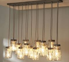impressive diy mason jar lantern chandelier ideas for creative home interior decoration